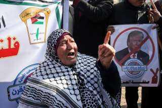 بالفيديو.. احتجاجات فلسطينية قبيل إعلان «صفقة القرن»