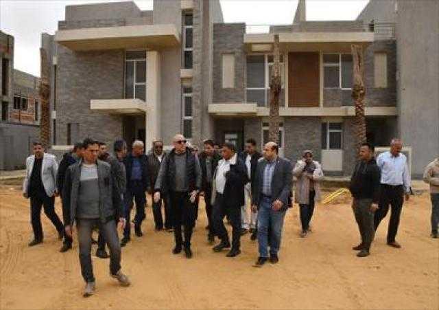 «الإسكان»: إنجاز 86% من الأعمال الجارية بالحي الثالث في العاصمة الإدارية