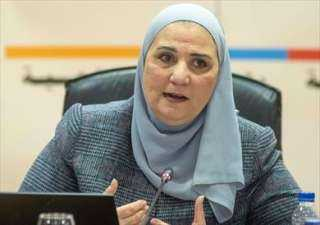 فيديو.. وزيرة التضامن الاجتماعي: نقل ماكينات صرف آلي للمدارس ومراكز الشباب