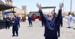 فيديو.. لحظة الافراج عن 770 سجينا بعفو رئاسى بمناسبة عيد الأضحى المبارك