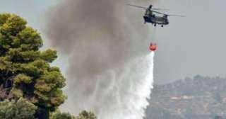اصطدام طائرتين أثناء مشاركتهما فى مكافحة الحرائق بولاية نيفادا الأمريكية