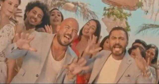 """تامر حسنى ومحمود العسيلى يطرحان كليب """"اختراع"""".. فيديو"""