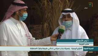 تنشط السياحة وتنتج أفضل أنواع التمور.. جولة التلفزيون السعودي في مزارع عالية المدينة (صور وفيديو)